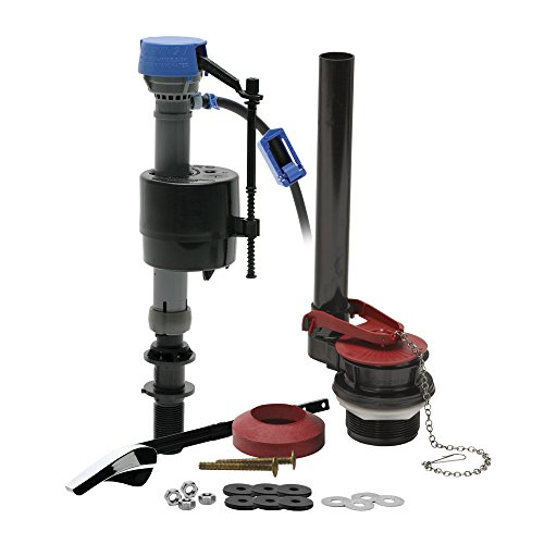 Fluidmaster 400ARHRKP10 PerforMAX Universal High Performance All in One Repair Kit for 2-Inch Flush Valve Toilets, Easy Install