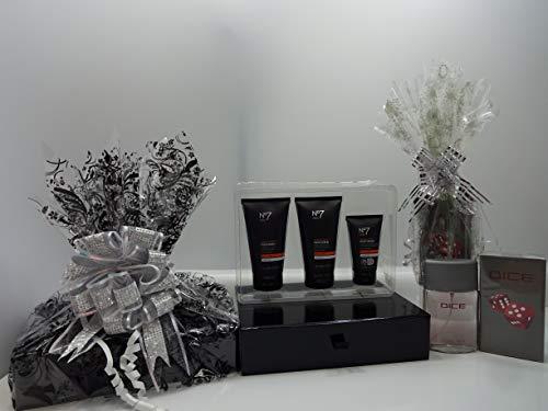 Noël vente ~ acheter N ° 7 pour homme Quick Time Trio Ensemble cadeau Panier cadeau Cadeau Emballé + obtenez gratuit gratuit pour homme Glory Parfum Cadeau Emballé Offre spéciale Noël Limited Edition.