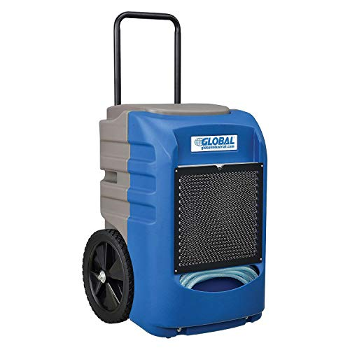 Commercial Grade Refrigeration Dehumidifier, 145 Pints Day Dehumidification with Water Pump
