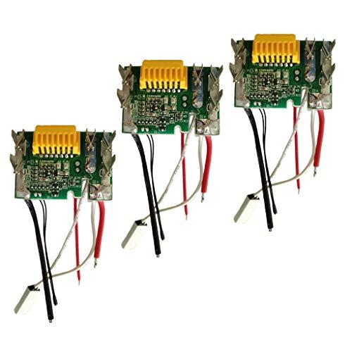 non-brand Sharplace 3pcs Module Conseil De Protection Panneau Batterie Lithium pour Makita Bl1830