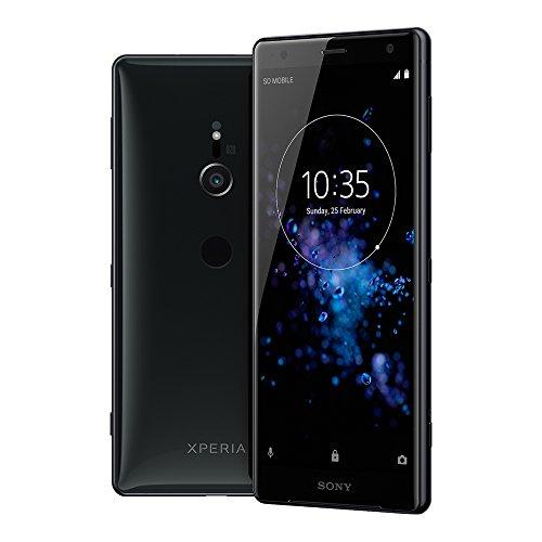 Sony Xperia xz2Smartphone (14,5cm (5,7Pouces) Écran IPS Full HD +, 64Go de mémoire Interne et 4Go de RAM, Single SIM, IP68, Android 8.0) Liquid Black–Version Allemande