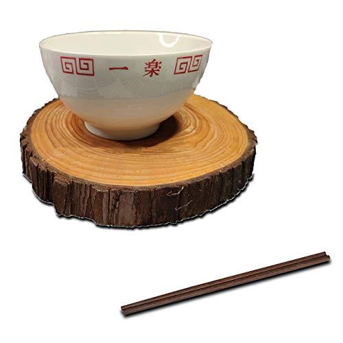 LVMMO Naruto Shippuden Ramen Bowl (16,5 cm) mit Hölzernen Stäbchen Porzellan Naruto Instant Nudeln Suppenschüssel Set für Udon Nudeln Pho Soba Getreidesalat Kinder Geschenk,Classic style