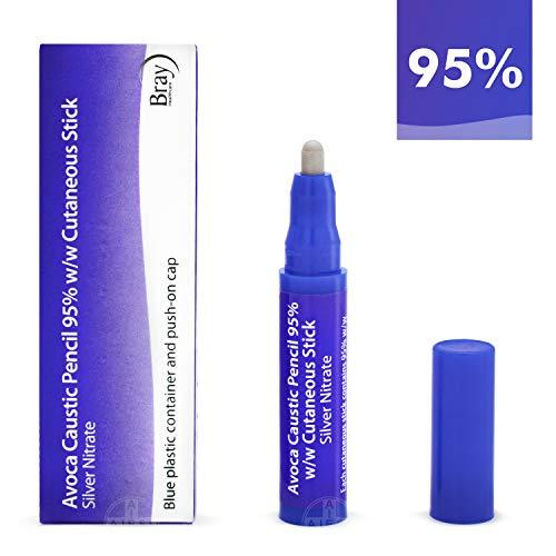 AVOCA Lápiz Cáustico de Nitrato de Plata al 95% para eliminar Verrugas Mezquinos y Tejidos