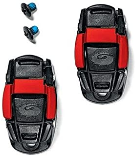 Cycling Shoe Replacement Caliper Buckle (Black/Red)