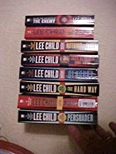 8 PB LEE CHILD NOVELS featuring JACK REACHER; DIE TRYING, PERSUADER, 61 HOURS