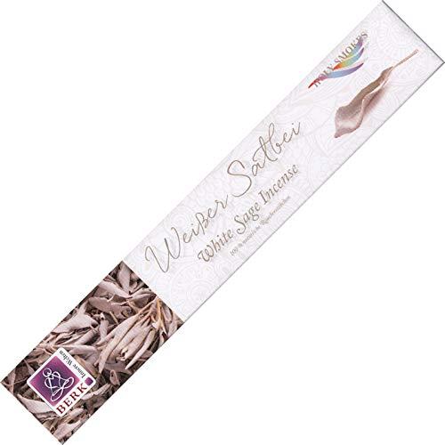 Berk Weisser Salbei - White Sage - Räucherstäbchen aus Indien - Holy Smokes - 10g