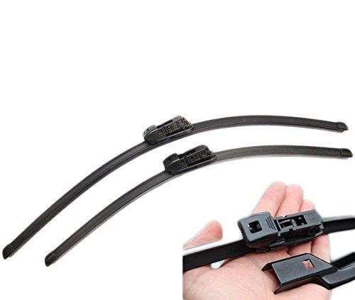 Handycop® 2x Flex/Flat Scheibenwischer für Mondeo 4 IV alle Modelle ab 2007 Flach Wischer Satz Set Premium