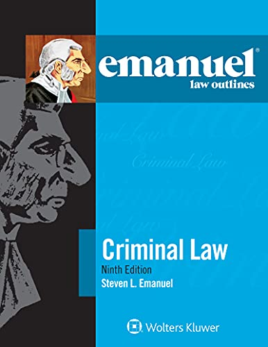 Emanuel Law Outlines for Criminal Law (Emanuel Law Outlines Series) (English Edition)