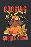 Cooking Teacher Gobble Squad (Prayer Journal): Kids Prayer Journal, Mens Prayer Journal