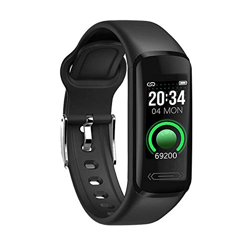 Fitness Tracker Smart Watch, Pewant Waterproof Activity Tracker Smartwatch with Heart Rate Blood Pressure Message Call Reminder Bluetooth Step Calorie Counter Pedometer Smartwatch for Women Men Kids
