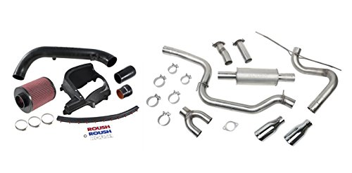 Roush Performance Products 421610 Cat-Back Exhaust Kit, 1 Pack