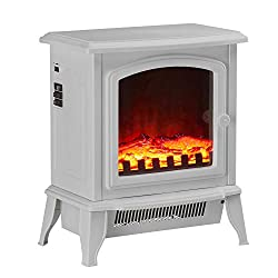 Classic design; Classically designed stove heater featuring a large window and a stylish handle 2 settings; The stove heater features 2 heat settings, 1000 or 2000-watt power for optimum efficiency Thermostat control; Ensure no heat is wasted by usin...