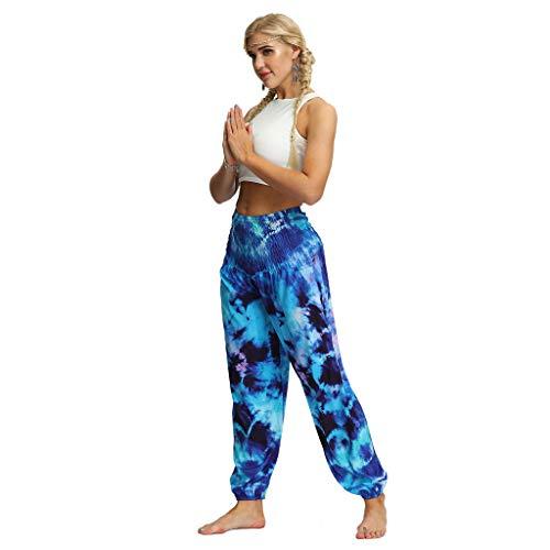 Posional Pantalones Mujer Pantalones Deportivos Pantalones Yoga Mujer Fluidos Pierna Ancha Pantalones...