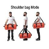 Whewer Dry Bag Waterproof Dry Duffel Bag Camel Bag Duffle Bag Waterproof Holdall...