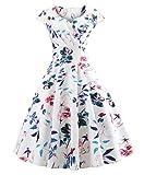 Vestiti Donna - Abiti Corti Ragazza - Fashion Moderno da Discoteca Party Sera Ballo O Festa - Eleganti per Sposa Cerimonia O Damigella (XL, Model I)