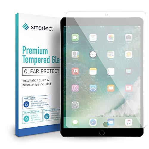 smartect Beschermglas compatibel met iPad Air 10.5 2019 / iPad Pro 10.5 - screen protector met 9H hardheid - bubbelvrije beschermlaag - antivingerafdruk kogelvrije glasfolie