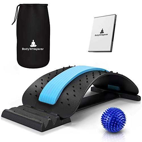 BodyWhisperer Back Stretcher – Relieves Lumbar, Spine & Back Pain Whilst...