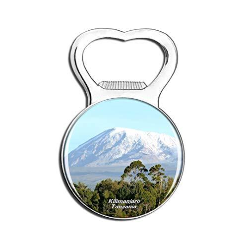 Weekino Tansania Kilimanjaro Kühlschrankmagnet Bier Flaschenöffner Stadt Reise Souvenir Sammlung Starker Kühlschrankaufkleber