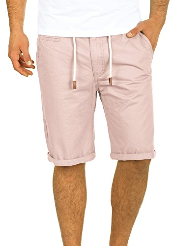 Blend Kaito Herren Chino Shorts Bermuda Kurze Hose Mit Kordel Aus 100{bf57cf7d842e0c73081f8881362dc04ef4444cd5ce78dcc676e673a14ef653fe} Baumwolle Regular Fit, Größe:XL, Farbe:Cameo Rose (73835)