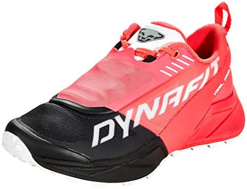 DYNAFIT Damen Ultra 100 W Laufschuhe, Fluo Pink/Black, 38.5 EU