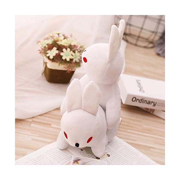 Peluches Rogue Rabbit Stuffed Animal Doll, Peluches Graciosos Conejos, Animal Soft Doll Boy Regalo Decoración para el… 2