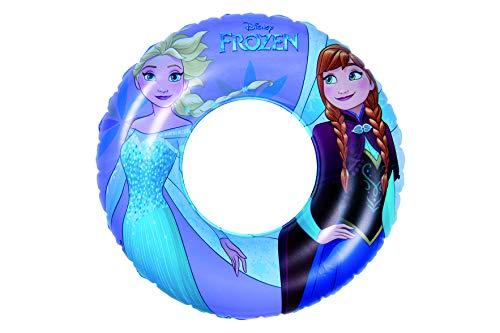 Disney Eiskönigin 40881 Aufblasbarer Schwimmring Die Eiskönigin, Blau