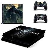 FENGLING Juego Bloodborne Ps4 pegatinas Play Station 4 Skin Ps 4 calcomanía cubierta para Playstation 4 PS4 consola y controlador de vinilo