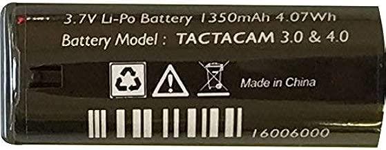 TACTACAM 3.0/4.0 Action Camera Rechargeable Battery 3.7 Volt Lithium
