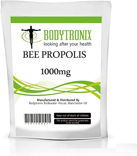 Bee Propolis 1000mg Capsules Natural Antibiotic, Fight Infection (30)