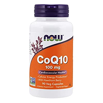 NOW Foods Coq10 100mg, Vcaps