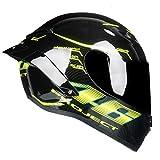 Sportinents Casco Integrale Casco da Motociclista Racing Full Face Downhill Approvato DOT G.Project S
