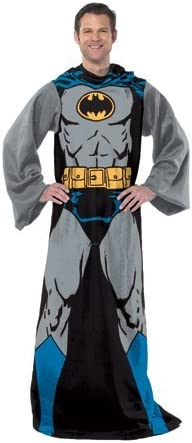 DC Comics Comfy Throw Blanket with Adult-48 Max 82% OFF 71 Limited time trial price Inches x Sleeves