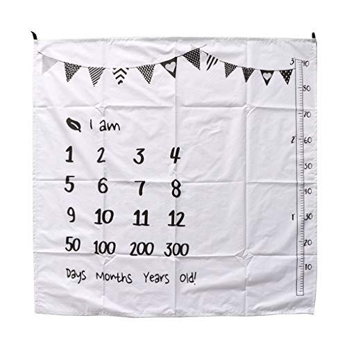Manta para tomar fotos de bebé, guangruiorrty de 100 x 100 cm, manta de muselina para recién nacidos
