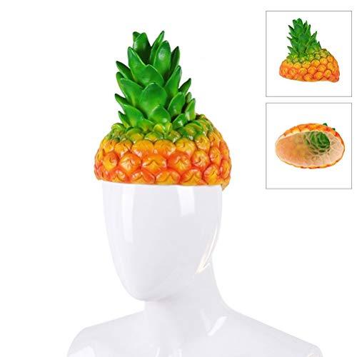 Halloween Ananas Hüte lustige Cartoon Obst Hüte für Karneval Party Phantasie Cosplay Kostüm