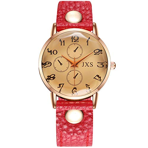 WDQTDY Wonman Fashion Silica Gel Band Analoog Kwarts Ronde Horloge Horloges Wandklok Modern Ontwerp Sticker relojes para Mujer 50 als De foto laat zien