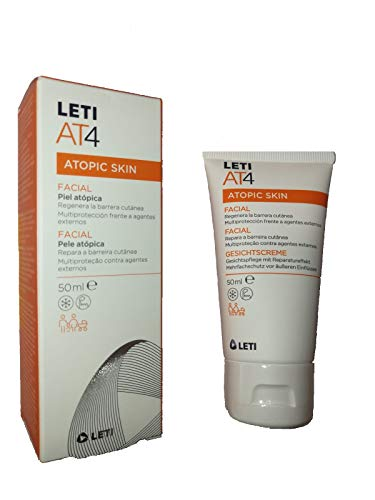 LETI AT-4 Crema Emoliente facial 50 ml