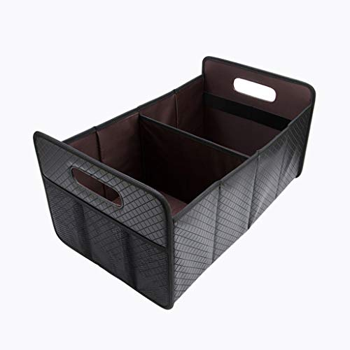 Auto et Moto/Accessoires auto/Arrimage et rang Boîte de rangement pour coffre coffre de rangement intérieur intérieur intérieur multifonctionnel (Color : Black-52cm*31cm*26cm)