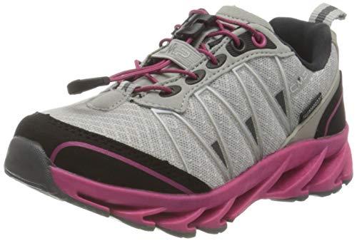 CMP Unisex-Child Kids ALTAK Shoes WP 2.0 Trail Running Shoe, Ghiaccio-CARMINIO, 41 EU