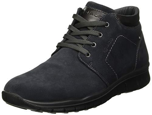 Igi&Co Uomo Gore-Tex-41173, Zapatillas Altas para Hombre, Azul (Notte 4117322), 44 EU