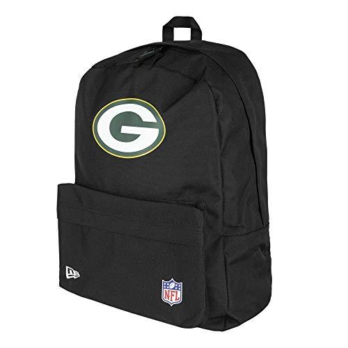 New Era Rucksack NFL Stadium Bag GREEN BAY PACKERS Schwarz, Size:ONE SIZE