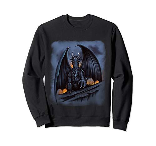 Dark Fantasy Drachen Geschenk Drachen Sweatshirt