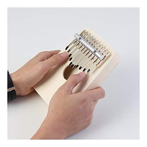 SADDPA 10 Keys DIY Kit Basswood Daumenklavier Handmade Set Musikinstrument Ohne Tuning Hammer for Anfänger Kinder (Color : A)