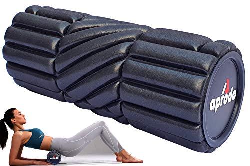 APRODO New High Density Foam Roller Massager for Deep Tissue...