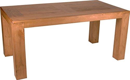 MiaMöbel Esstisch Mexico Möbel 200x100 cm Landhausstil Massivholz Pinie Honig