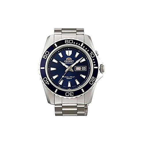 Orient Herren Analog Automatik Uhr mit Edelstahl Armband FEM75002D6
