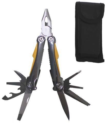 G8DS® Werkzeugset, große AUSF, mit Zange u. div. Messern Multitool