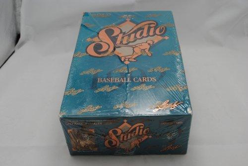 1992 LEAF Studio Baseball Hobby Box - 48P