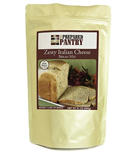The Prepared Pantry Zesty Italian Cheese Bread Mix; Single Pack; For Bread Machine or Oven