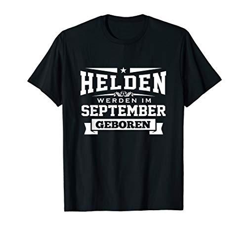 Geburtstag September Geschenk Shirt