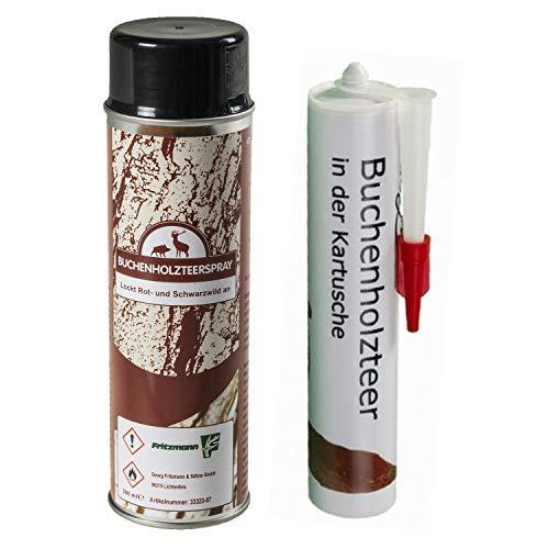 Fritzmann Buchenholzteer- Set 500ml Spray und 310ml Kartusche